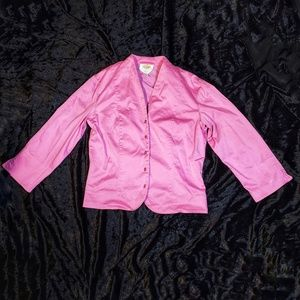 Talbots 10Stretch Pink Blazer